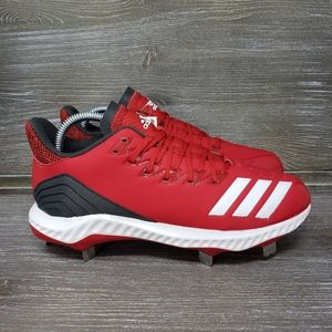 NWT Adidas Icon Bounce Cleats, Power Red - cg5242